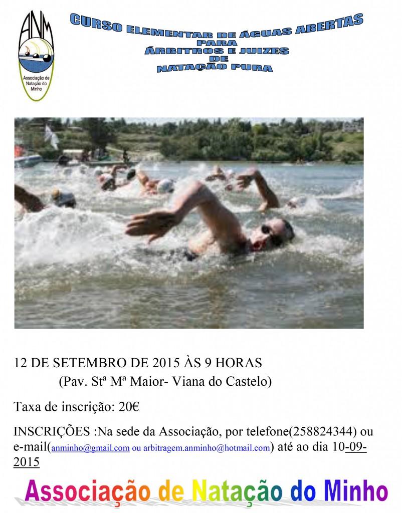 capa curso elementar Águas Abertas 2015